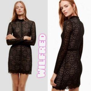 Aritzia Wilfred Janvy lace dress size 0